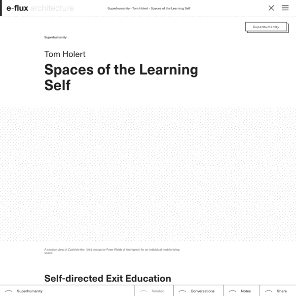 Spaces of the Learning Self