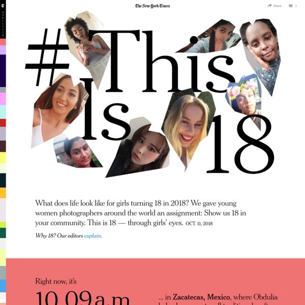 This is 18 Around the World - Through Girls' Eyes