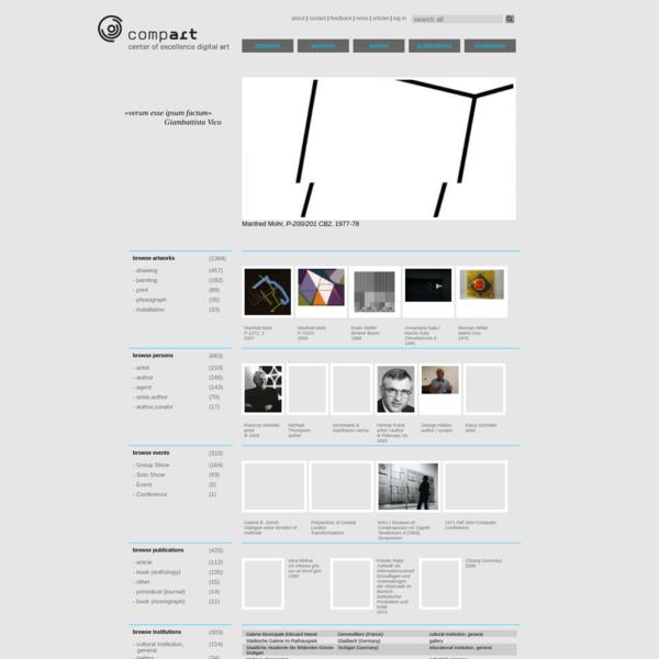 home | Database of Digital Art