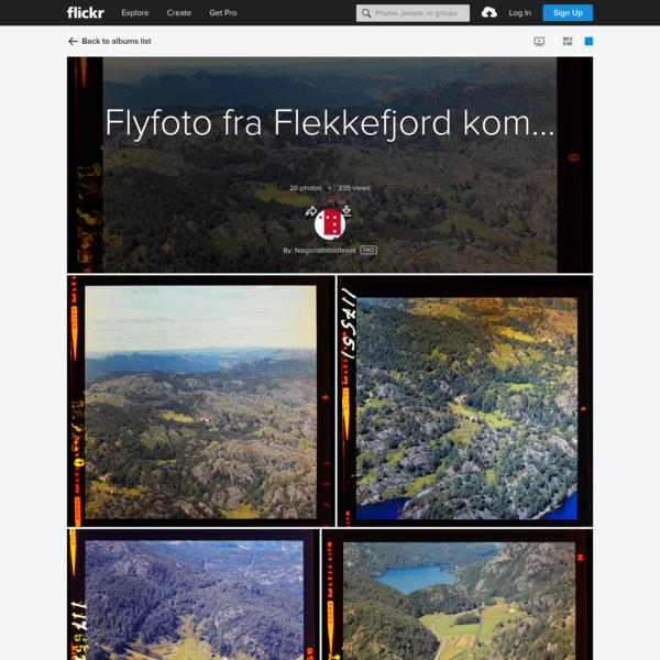 Flyfoto fra Flekkefjord kommune