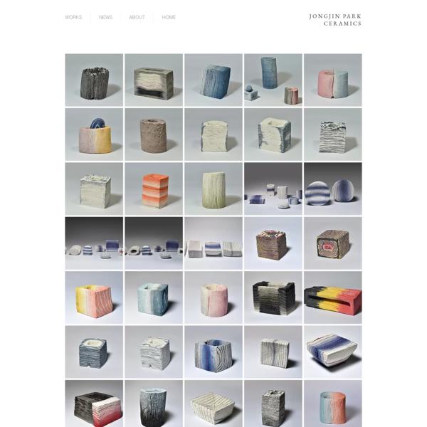 jongjinpark-ceramics   Artistic Stratum 2013 -