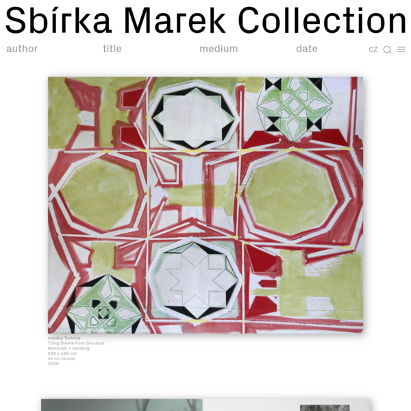 The Marek Collection is a collection of art started by brothers Ivo Marek and Zdeněk Marek in 2010.