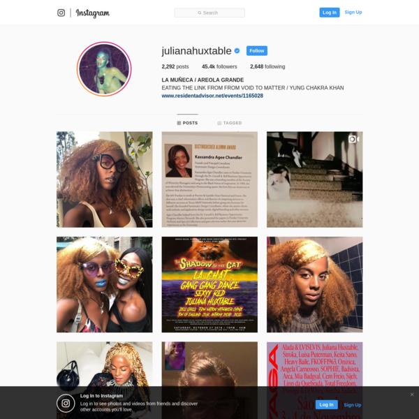 LA MUÑECA / AREOLA GRANDE (@julianahuxtable) * Instagram photos and videos