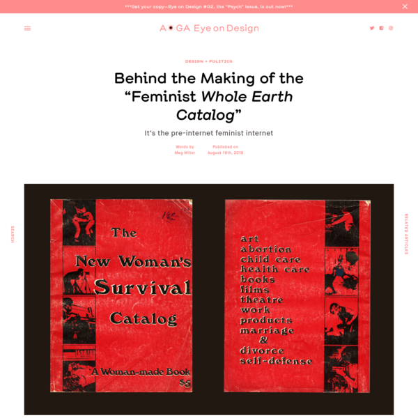 """Behind the Making of the """"Feminist Whole Earth Catalog"""""""