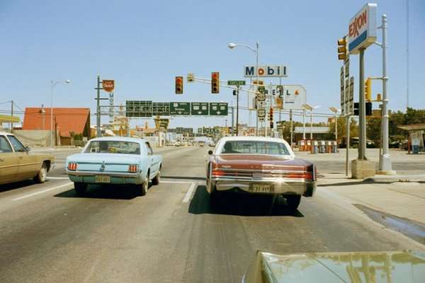"""In the early 1970s, #StephenShore—eager to create images more in tune with his time—turned to color photography, a technique then still overlooked by art photographers. 