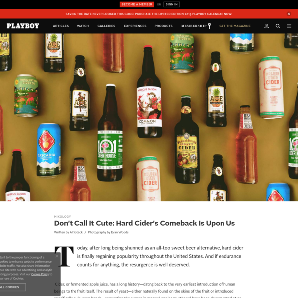 Don't Call It Cute: Hard Cider's Comeback Is Here