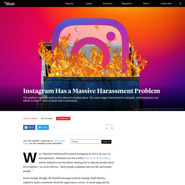 Instagram Has a Massive Harassment Problem