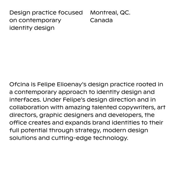 Information - Ofcina - Identity Design Services