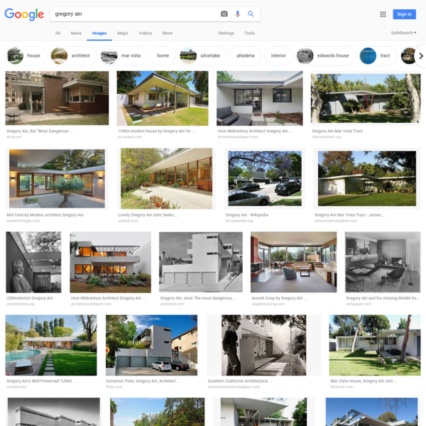 gregory ain - Google Search