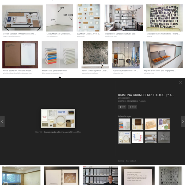 micah lexier - Google Search