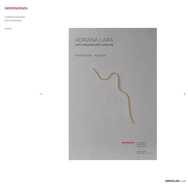 Adriana Lara - Indipendenza Roma