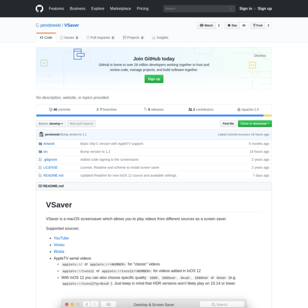 Contribute to pendowski/VSaver development by creating an account on GitHub.