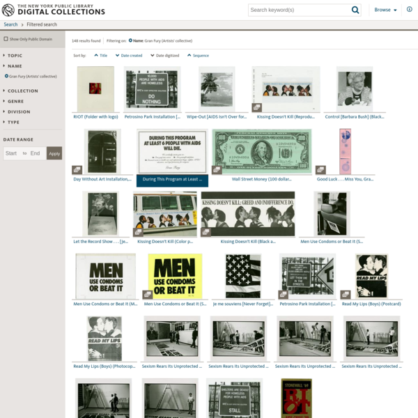 Click to visit the main New York Public Library Homepage