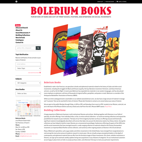 Welcome to the website of Bolerium Books