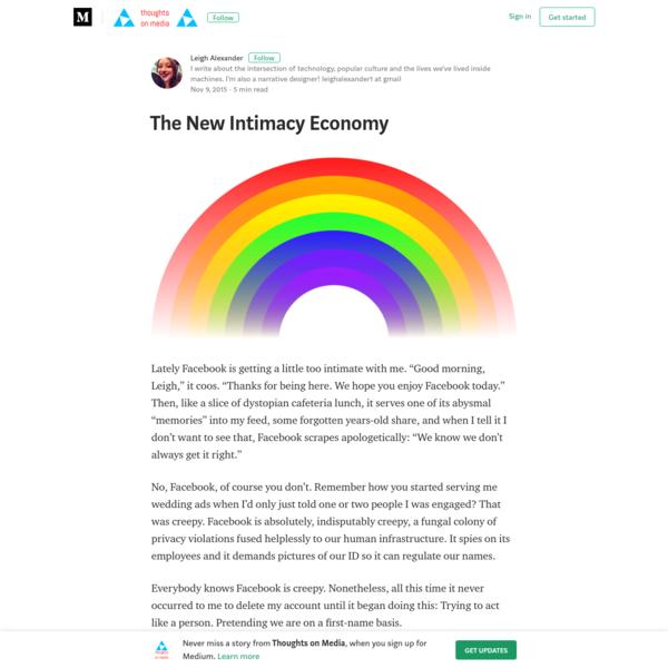 The New Intimacy Economy - Thoughts on Media - Medium
