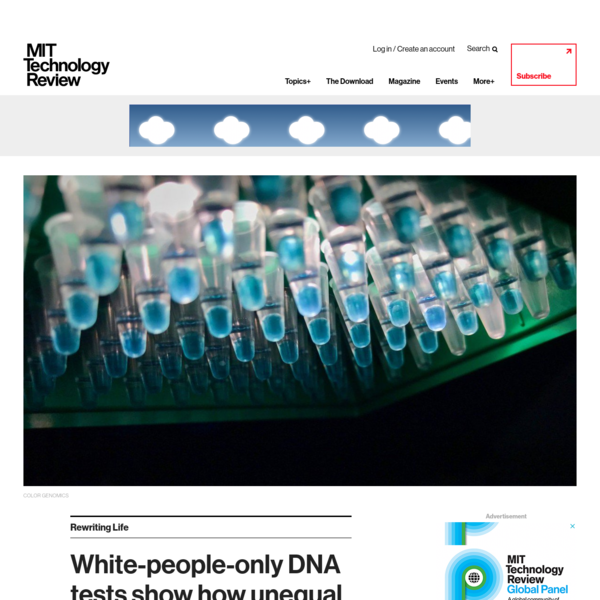 White-people-only DNA tests show how unequal science has become