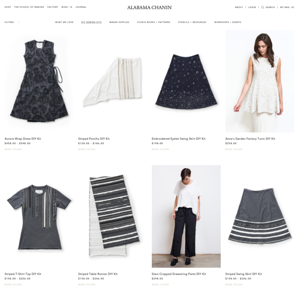 Shop the latest from our collection of ready-to-sew organically produced, thoughtfully designed, women's fashion, home textiles, tabletop, DIY, and more. Made in the USA.