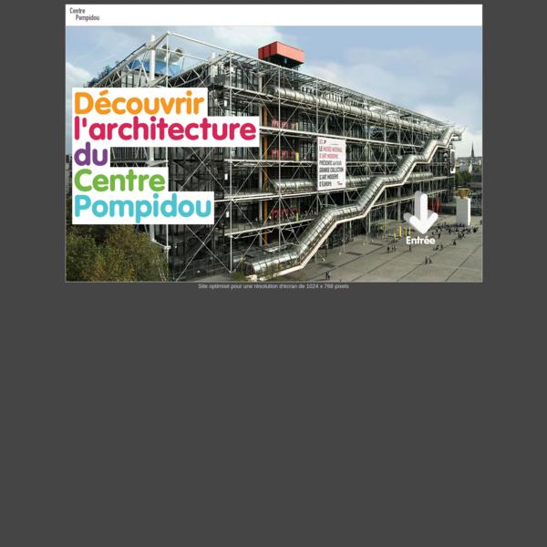 Découvrir l'Architecture du Centre Pompidou