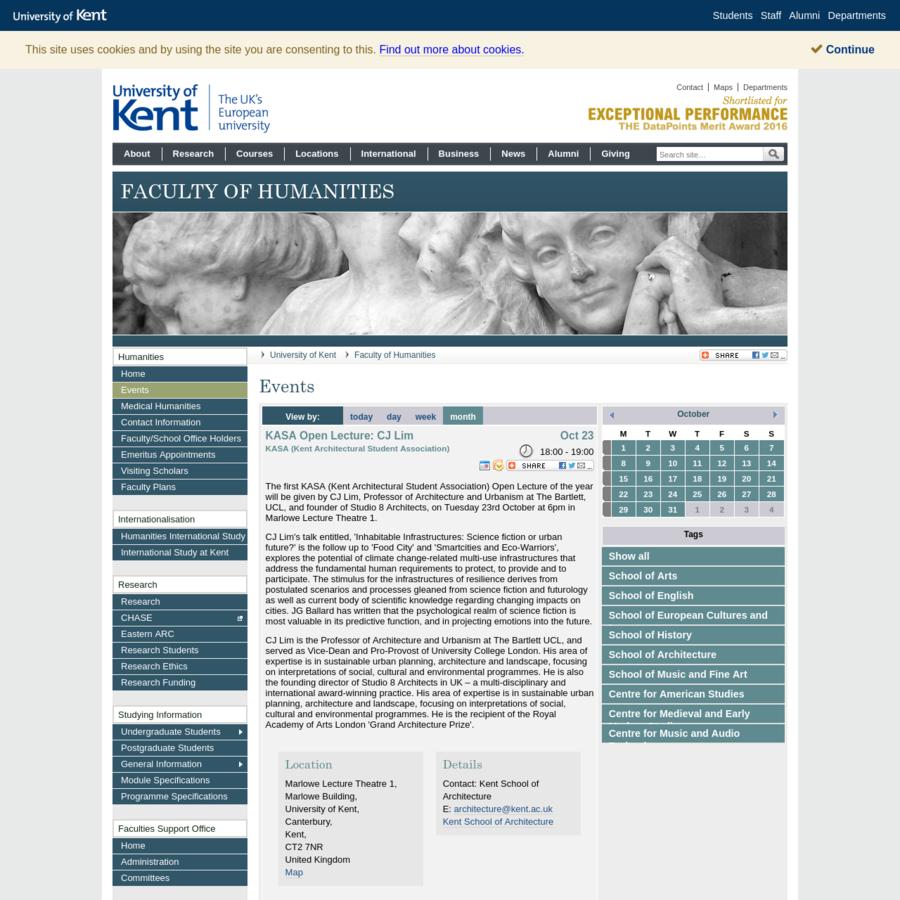 University of Kent - The UK's European University