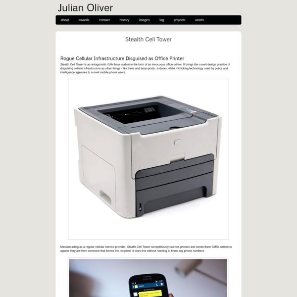 Julian Oliver - GSM