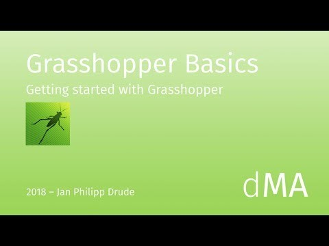 Grasshopper Basics Tutorial (deutsch)