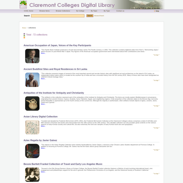 Claremont Colleges Digital Library