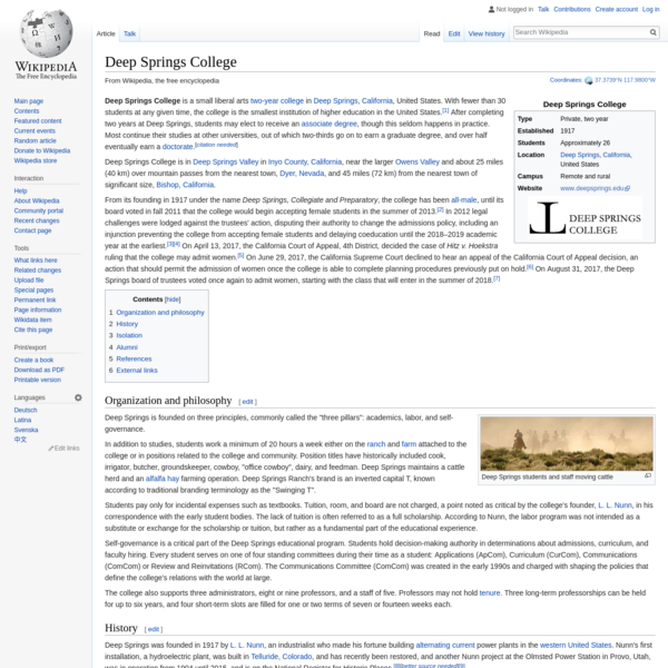 Deep Springs College - Wikipedia