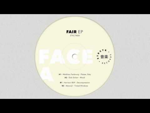 STRCTR001 // VA - Fair EP https://www.discogs.com/Various-Fair-EP/release/9354047 _ STRCTR Records: https://soundcloud.com/strctr-records https://www.facebook.com/STRCTR/ https://www.instagram.com/strctr_records/ http://strctr.fr/defaultsite _ Matthieu Faubourg: https://soundcloud.com/matt-schro https://www.facebook.com/matthieufaubourgconcept https://www.discogs.com/artist/4793953-Matthieu-Faubourg _ Stay tuned for more music: https://soundcloud.com/slavrecords https://www.facebook.com/slavrecords https://mixcloud.com/slavrecords _ Slav House: https://www.facebook.com/groups/slavhouse https://www.reddit.com/r/slavhouse/ _ Mastering by Dj Steaw Artwork by Nicolas Rodriguez