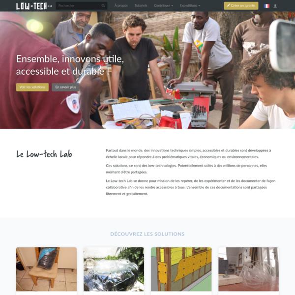 Low-Tech Lab