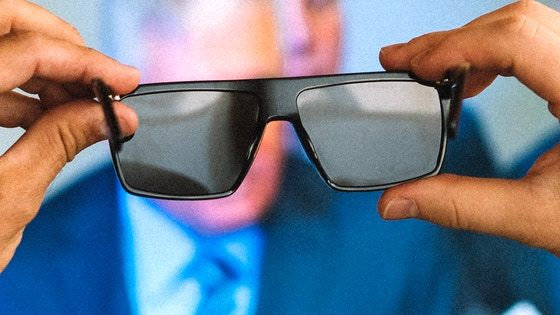 IRL Glasses - Glasses that Block Screens
