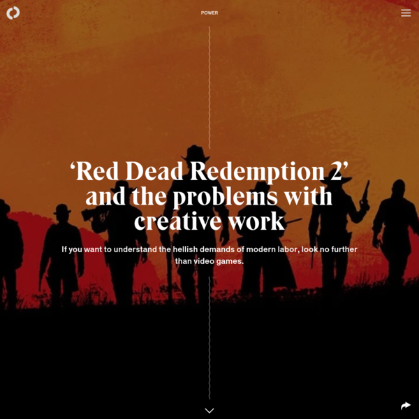 'Red Dead Redemption 2' and the problems with creative work