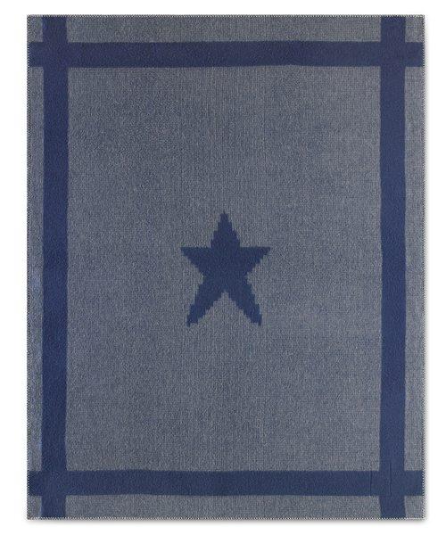 Gettysburg Star Civil War Soft Wool Blanket