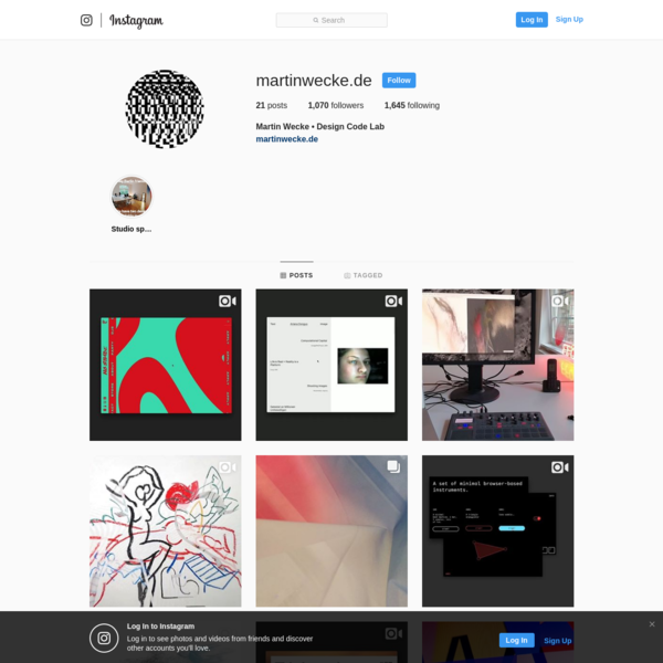 Martin Wecke * Design Code Lab (@martinwecke.de) * Instagram photos and videos