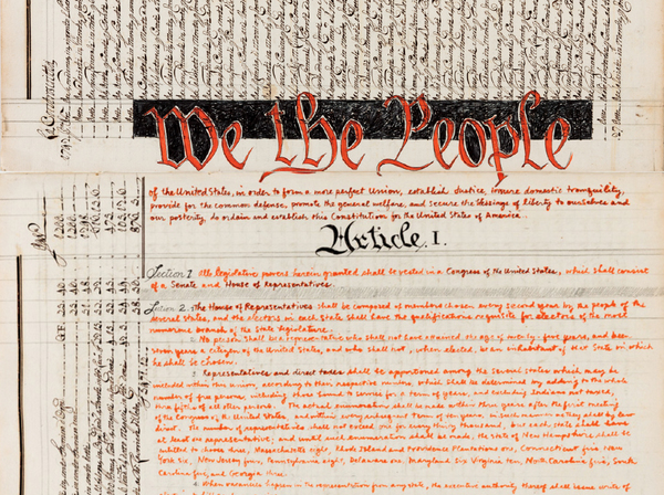 Morgan O'Hare spends time hand copying the Constitution and claims that it helped her understand her rights and find a connection with it.