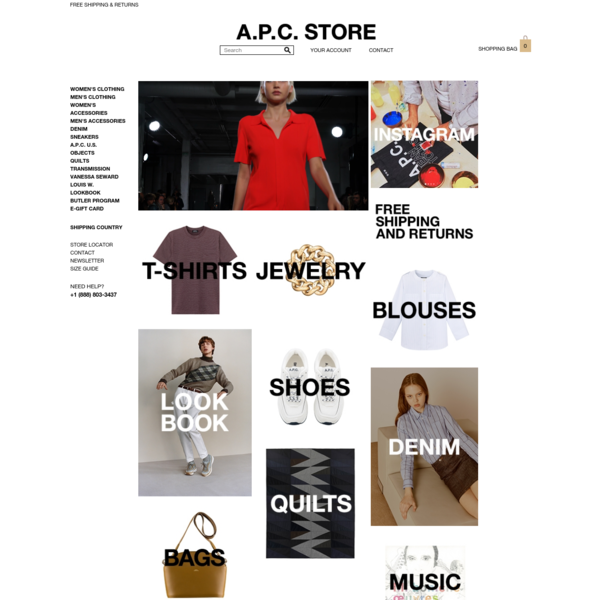 A.P.C. | Official Store