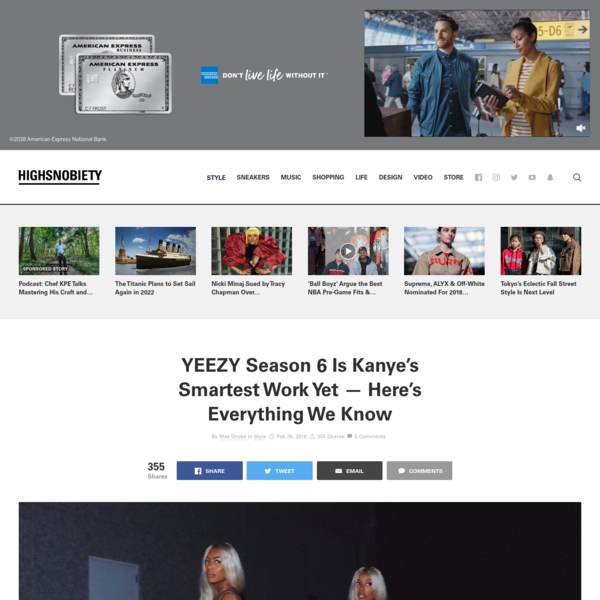 YEEZY Season 6: Everything You Need to Know About The Release