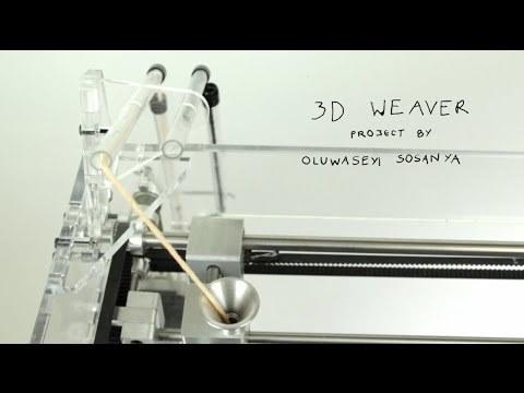 Oluwaseyi Sosanya's 3D weaving machine
