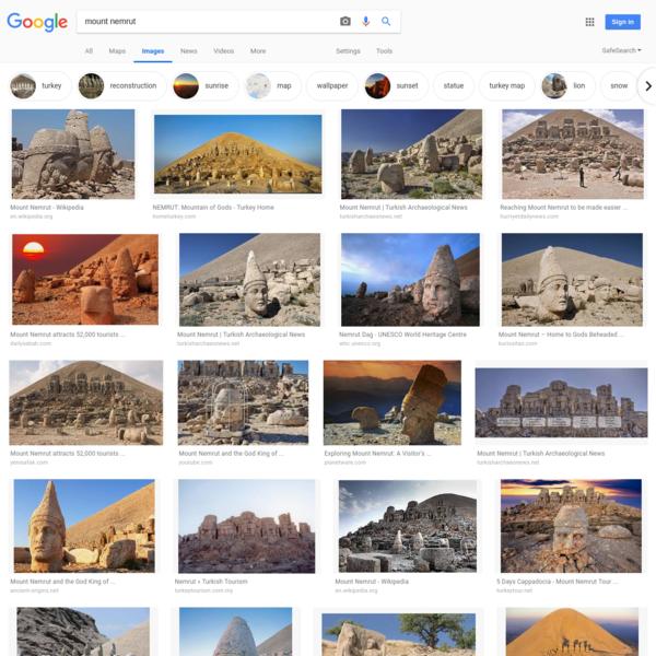 mount nemrut - Google Search