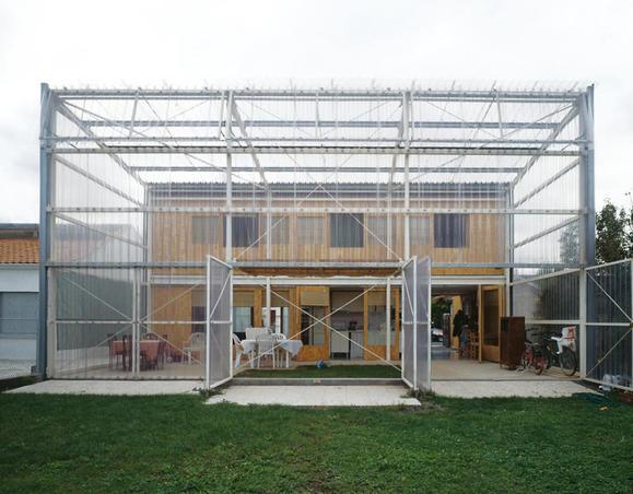 polycarbonate structure - Latapie house