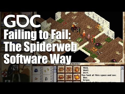 In this GDC 2018 talk, Spiderweb Software's Jeff Vogel presents a retrospective on his company's history and how they've managed to stay in the game-making business since 1994. Register for GDC: http://ubm.io/2gk5KTU Join the GDC mailing list: http://www.gdconf.com/subscribe Follow GDC on Twitter: https://twitter.com/Official_GDC GDC talks cover a range of developmental topics including game design, programming, audio, visual arts, business management, production, online games, and much more.