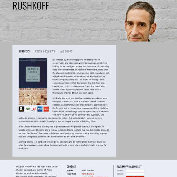 Nothing Sacred - Rushkoff