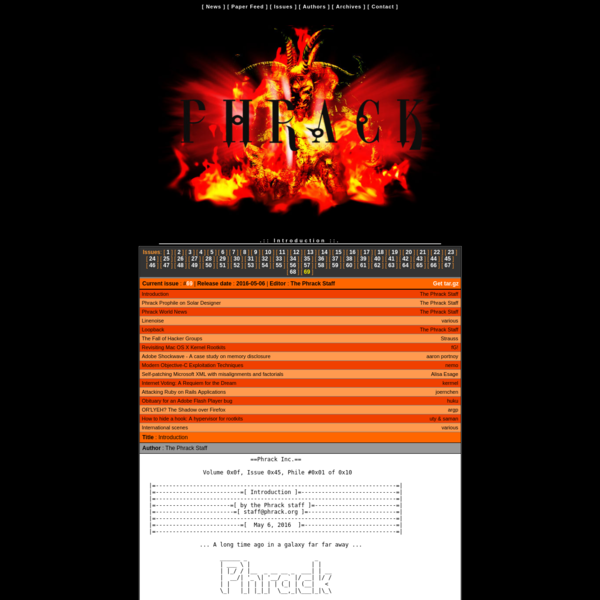 Phrack staff website.