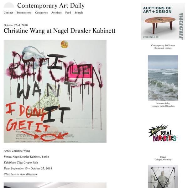 Christine Wang at Nagel Draxler Kabinett