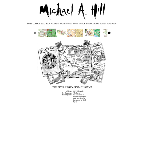 Michael A Hill - Illustrator