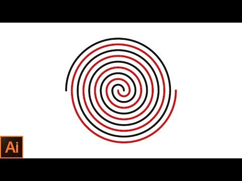 """Hi, guys. """". In this Adobe Illustrator tutorial, I'll be showing you how to draw a perfect spiral adobe illustrator cc 2018. Welcome to my channel """"PS Design"""". I'll show you how to use the Polar Grid tool in adobe illustrator cc, how to use the Selection tool and how to use Direct Selection tool."""