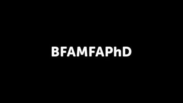 BFAMFAPhD Single-channel video 06:45 2014 Written by: Susan Jahoda, Blair Murphy, Caroline Woolard Sound: Dia Felix Voice: Susan Jahoda, Art Jones Demographic Analyst: Vicky Virgin Animation: Zipeng Zhu Artists Report Back, Animated uses data about artists' demographics, occupations, educational attainment, field of degree, and earnings as recorded by The Census Bureau's 2012 American Community Survey (ACS) to make statements about the current conditions and contradictions of working artists and arts graduates.