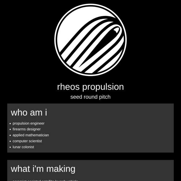 rheos : pitch