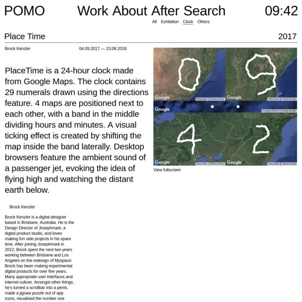 Place Time - POMO