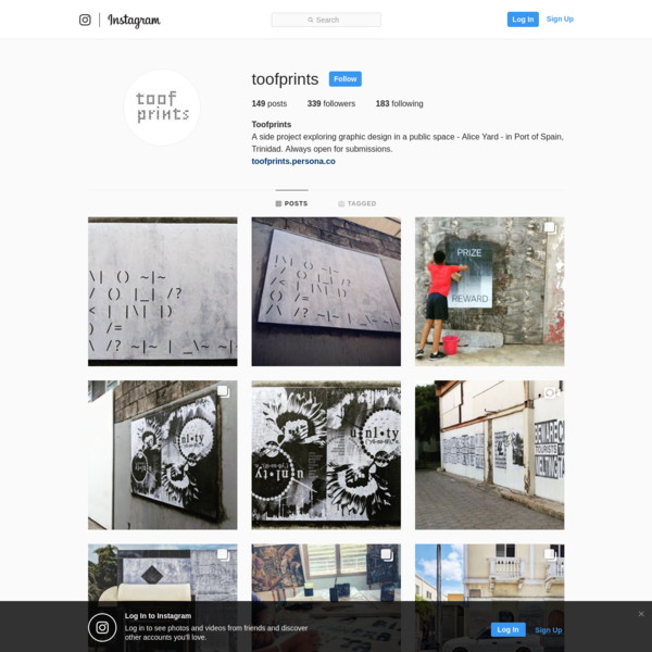 339 Followers, 183 Following, 149 Posts - See Instagram photos and videos from Toofprints (@toofprints)