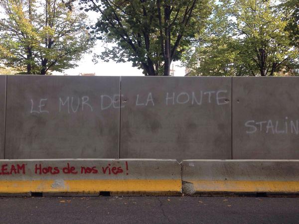 Mur à la plaine